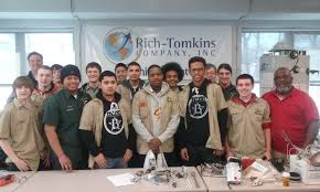 supporting the trade mercy vocational hs comes to rich 18 rich tomkins company was proud to host a very talented group of students from mercy vocational high school to its training facility for bradford white