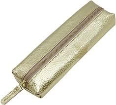 Laconic Pen <b>Case</b> Form <b>Leather Leather</b> Gold <b>LSG</b> 02-200 GD ...