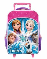 Disney Frozen Aglow <b>Primary School Trolley</b> Bag (<b>New</b> Arrival)