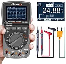 Mustool <b>MDS8207</b> Multimeter with Intelligent Storage, <b>2 in 1</b> Digital ...