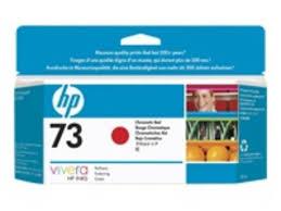 <b>HP 73</b> 130 ml <b>Chromatic</b> Red Ink Cartridge - CD951A   Ebuyer.com
