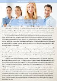 Family Medicine Personal Statement Writing   Residency Personal     Residency Personal Statement