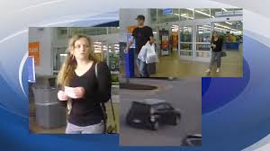 news 12 a wrdw news investigators looking for w accused of using stolen gift cards at local walmart