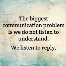 Jadilah pendengar yang baik