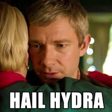 Hail HYDRA! 17 amazing 'Agents of S.H.I.E.L.D.' crossover memes ... via Relatably.com
