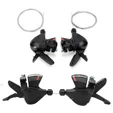 <b>1 Pair</b> 3x8 Speed MTB Bike Bicycle <b>Left Right</b> Shifter for Shimano ...