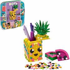 <b>Конструктор Lego Dots</b>: Подставка для карандашей Ананас ...