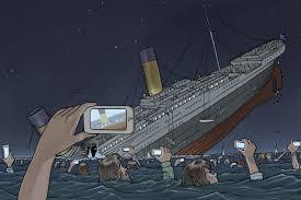 Resultado de imagem para CHARGES - titanic