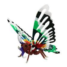 Деревянный 3D <b>конструктор</b> с красками Robotime <b>Бабочка</b> (PC207)