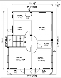 simple two bedroom house plan  first floor  bedroom    home