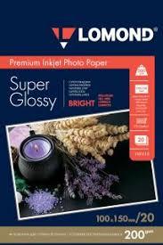 Суперглянцевая ярко-белая (Super Glossy Bright) микропористая ...