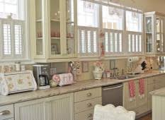 kitchen beautiful plantation window shutter plus beadboard cabinet and whitewashing chair on shabby chic kitchen idea charming shabby chic kitchen