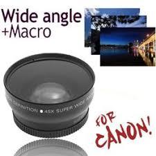 High Quality 58MM 0.45x Wide Angle Lens + Macro Lens - Vova