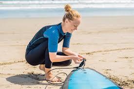 surfboard leash plugs 2 5cm orange black white surf foot box