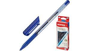<b>Kores Ручка</b> шариковая К2 синяя 0.5 мм - Акушерство.Ru