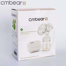 <b>Cmbear</b> BPA Free <b>Electric Double</b> Breast Pump With Milk Bottle ...