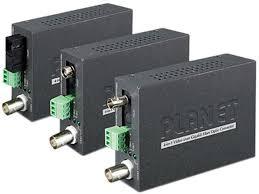 PLANET VF-106G-KIT <b>1</b>-<b>Channel 4-in-1 Video over</b> Gigabit Fiber ...