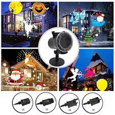 LED <b>Laser Projector</b> Light <b>Halloween Christmas</b> Landscape House ...