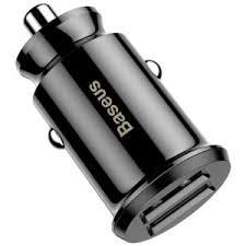 Buy <b>Baseus Dual</b> USB 3.1A Small Rice <b>Grain</b> Car Charger ...