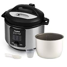 Vonchef 6 Litre 15-in-1 <b>Multi</b> Pressure Cooker Stainless Steel ...
