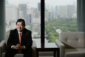 mitsui ceo eyes food retail amid profit slump the times tatsuo yasunaga president and ceo of mitsui co poses during an interview
