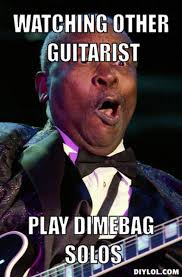 DIYLOL - Watching other guitarist Play dimebag solos via Relatably.com