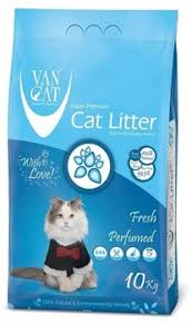 Комкующийся <b>наполнитель VAN CAT Fresh</b> весенняя свежесть ...