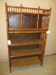 book case chinese bamboo furniture