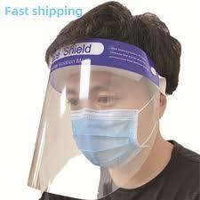 Full Face Masks Anti-droplets Anti-fog Dust-proof Transparent Face ...