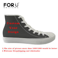 <b>FORUDESIGNS Custom Images</b> or Logo Men's Vulcanize Shoes ...