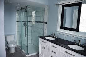 sliding bathroom mirror: bathroom renovation with sliding mirror over window by since i became a mom featured on