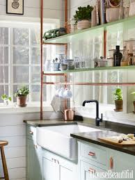 kitchen storage gadgets  kim lewis copper hardware