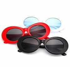 2019 Fashion <b>Oversize</b> Goggles Classic Unisex Oval <b>Sunglasses</b> ...