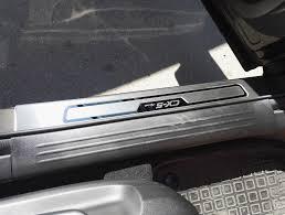 <b>Накладки на дверные пороги</b>. — Mazda CX-5, 2.0 л., 2019 года на ...