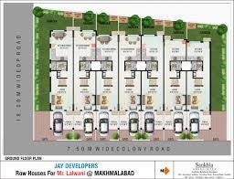Floor Plans For Row Housefloor plans for row house