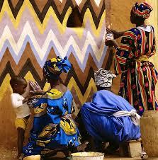 <b>African patterns</b>