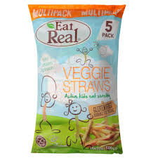 <b>Палочки вегетарианские Eat</b> Real Vegan Straws 100 г: купить по ...
