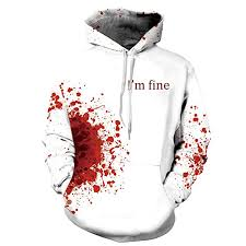 Islandse_Shirt <b>Men's Halloween Blood</b> 3D Printing Long Sleeve ...