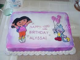 Decorated Birthday Cakes Dora Birthday Cake Decorations Birthday Cake Cake Ideas By