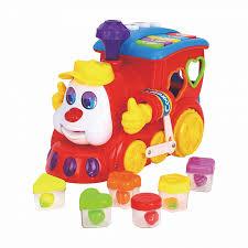 Купить <b>игрушку</b>-сортер <b>Huile Toys</b> Сказочный Паровозик в ...