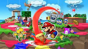 Paper Mario  Color Splash Wii U GamePad Pixl  Dashell