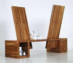 an undated handout picture shows a piece of furniture designed by university lecturer and author of architect furniture