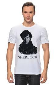 <b>Футболка классическая</b> Шерлок Холмс (SHERLOCK) #1036394 от ...