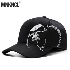 <b>High Quality</b> Unisex <b>100</b>% <b>Cotton</b> Outdoor Baseball Cap Skull ...