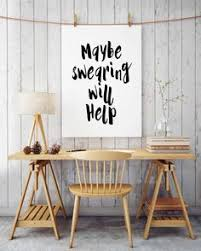 wall art designs awesome etsy cheap office wall art ideas quotes words swearing hanging decoration art for the office wall
