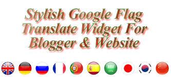 Cara Memasang Widget Translet Google Keren