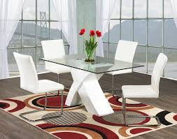 extension table f: modern  simple round glass dining table with walnut wood legs of contemporary rectangle tempered white painted crossed wooden leg also leather glass and wood round dining table dining room dining room table i