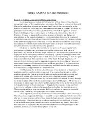 Free Sample Personal Statement in Education   The Eduers com