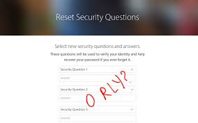 how i hacked my own apple id security questions how i hacked my apple id security questions