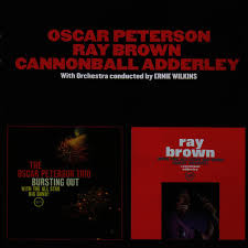 <b>Oscar Peterson</b> - <b>Bursting</b> out + Ray Brown with the All-Stars Band ...